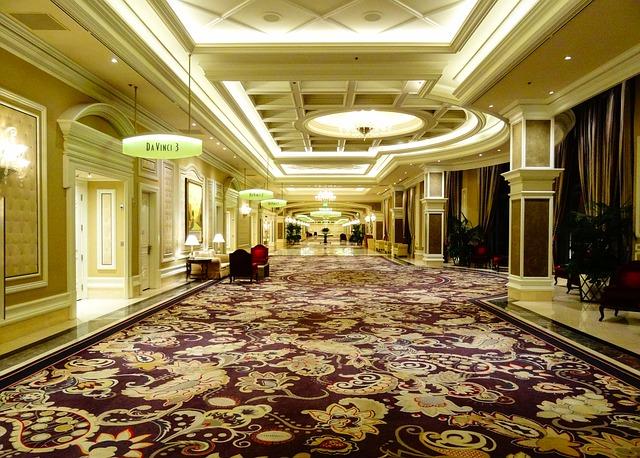 Foyer im Casino